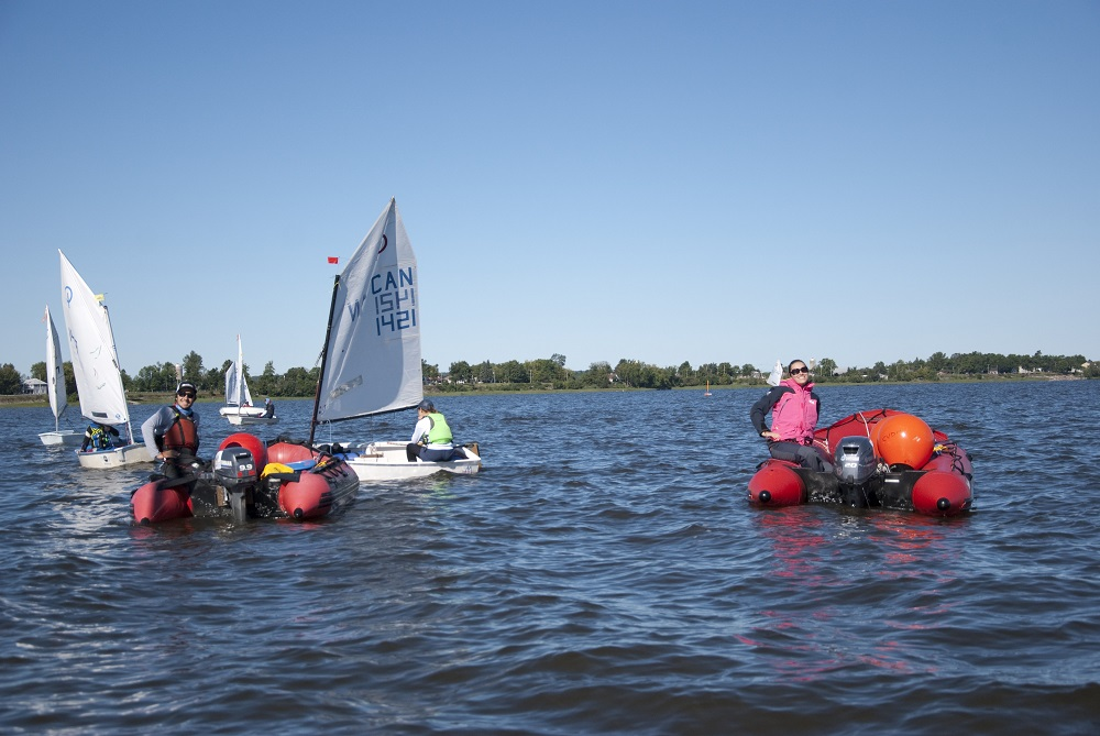 Become a dinghy instructor