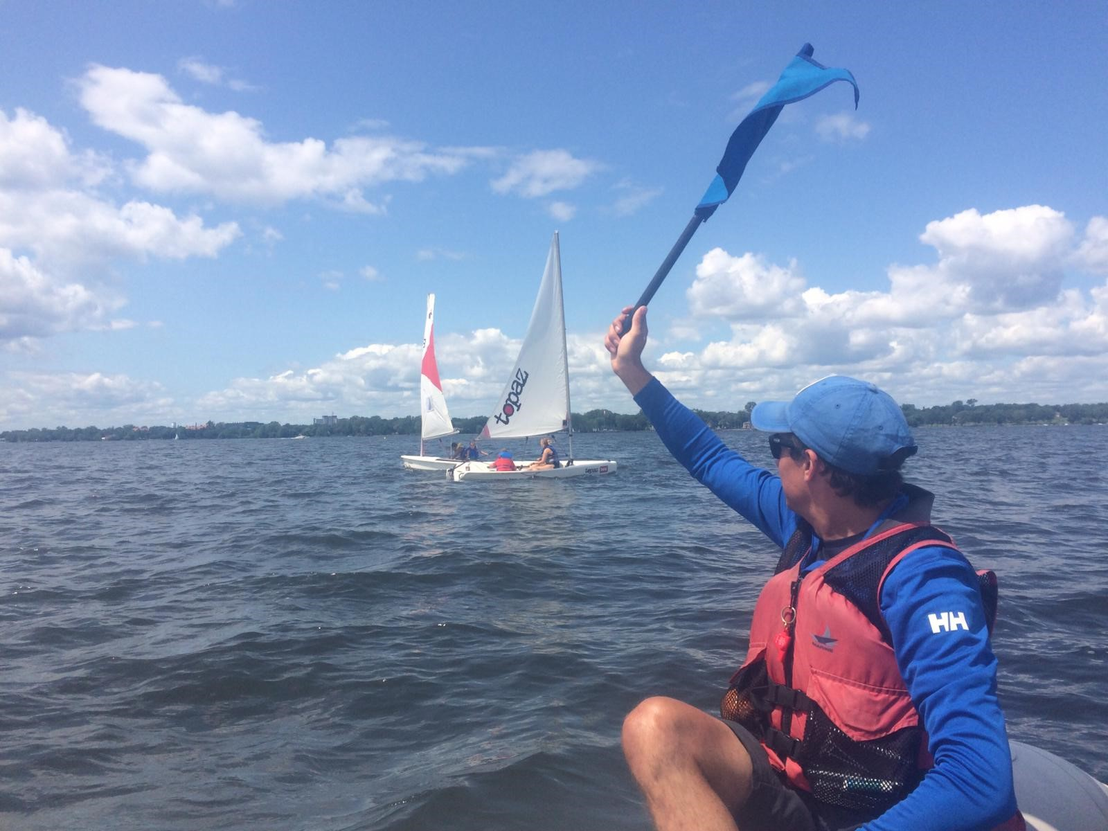 Become a Dinghy Sailing Instructor