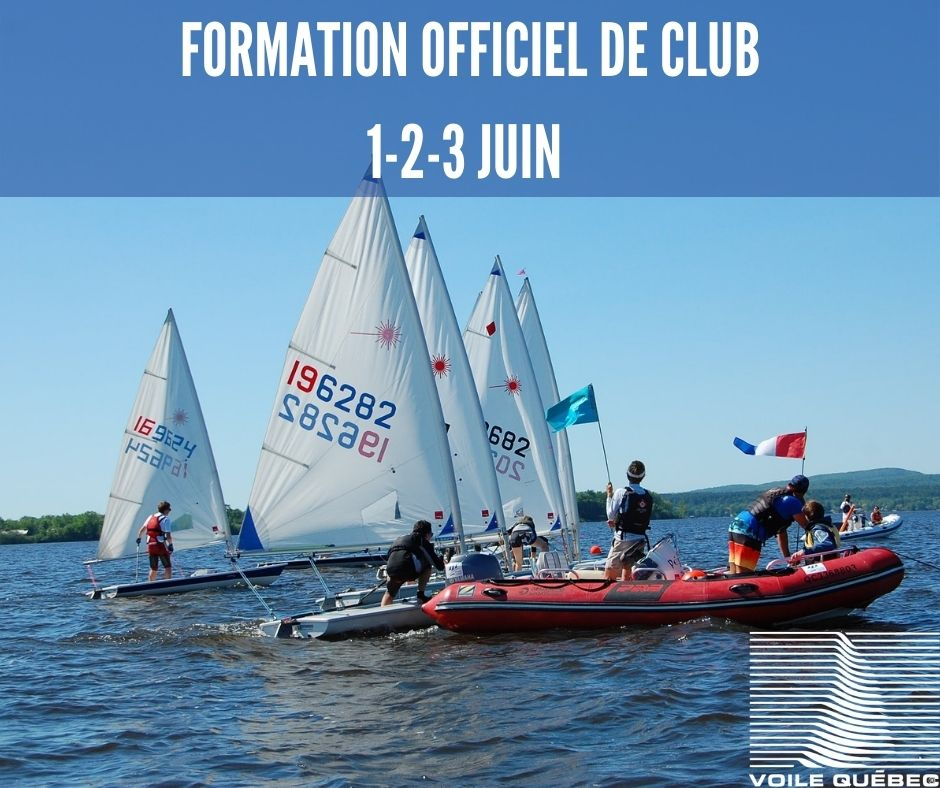 Become a club race officer