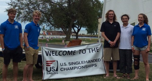 The Quebec Sailing Team at the 2016 Laser Class US National Championships in Ohio